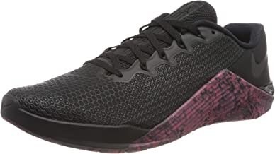 Nike Men's Metcon 5 Training Shoes (13, Black/Oil Grey/Sunset Pulse)