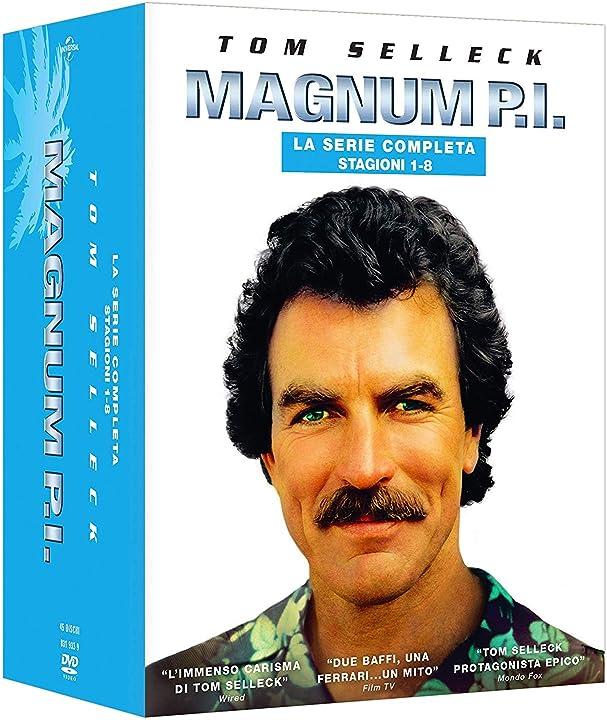 Magnum p.i. - collezione completa - stagioni da 1 a 8 (box 45 dv) universal studio B07RNKWK4H