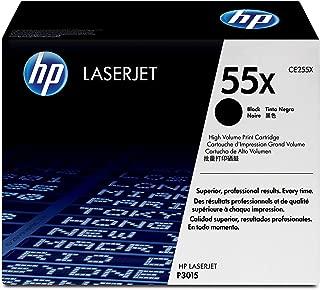 HP 55X   CE255X   Toner Cartridge   Black   High Yield