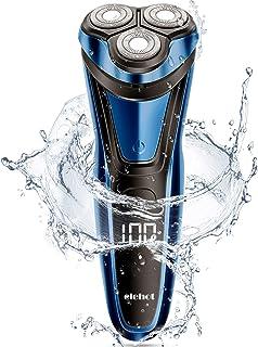 Rasierer Herren Elektrisch Rasierapparat mit LCD Display Trockenrasierer oder rasieren..
