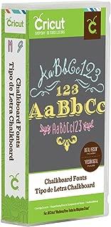 Cricut Chalkboard Cartridge
