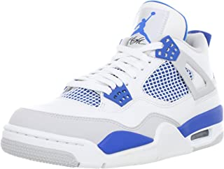 Mens Air Jordan 4 Retro Thunder Leather Basketball Shoes