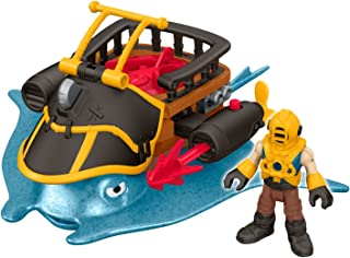 Fisher-Price Imaginext Captain Nemo & Stingray