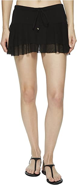 Robin Piccone - Francesca Ruffle Skort Cover-Up
