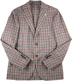 [54] [LARDINI] ラルディーニ ジャケット メンズ 秋冬 ベージュ 大きいサイズ [18793] [並行輸入品]