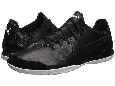 PUMA King Pro IT Soccer Shoes (Puma Black/Puma White) Men