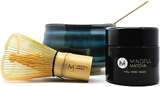Mindful Matcha, Matcha Starterset, inklusive 30g Premium Mat