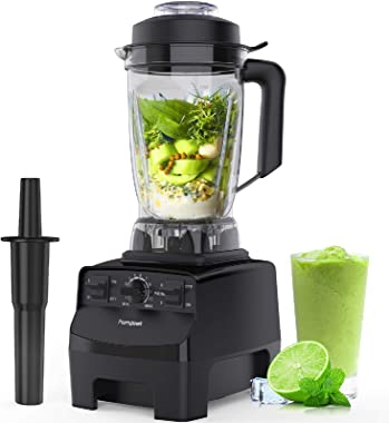 homgeek Blender Smoothie Blender, 1450W High Speed Professional Countertop Blender for Shakes and Smoothies 30000 RPM, Built-