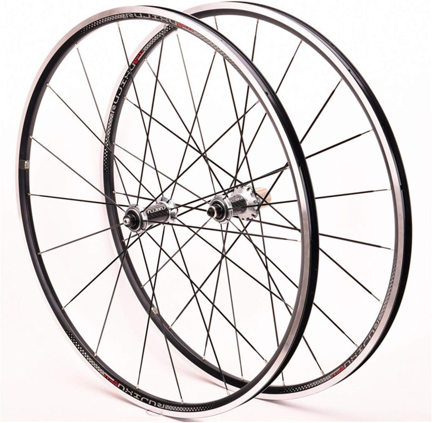 ZNND 700C Road Bike Front unisex Rear Alu Ultra-Light Bicycle Set Free Shipping New Wheel