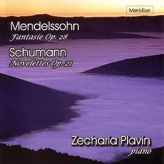 Mendelssohn: Fantasie, Op. 28 - Schumann: Novelettes, Op. 21