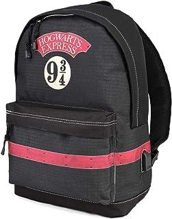 Harry Potter Express-Mochila HS Mochila Tipo Casual, 44 cm, 23 litros, Negro