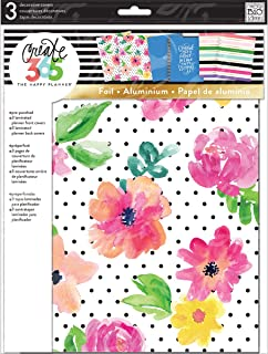 me & my BIG ideas the Happy Planner Big April Flowers Cover (COVB-01)
