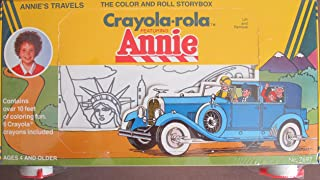 """Little Orphan Annie """"Annie's Travels"""" Crayola-Rola Color and Roll STORYBOX"""
