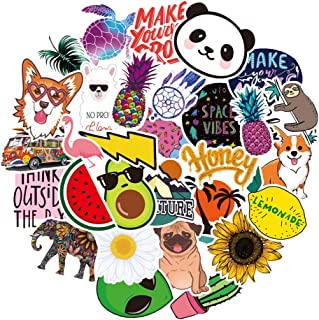 Stickers for Water Bottles Big 30pcs Waterproof Cute Aesthetic Trendy Stickers for Teens Kids Girls and Boys,Perfect for hydro flask Laptop Notebook Tablet Phone Car Travel Extra Durable 100% Vinyl