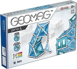 Geomag 024 PRO-L Magnetic Construction Set, 110-Pieces