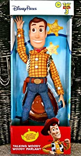 Disney Theme Park Authentic Toy Story 3 Pull String Talking Woody
