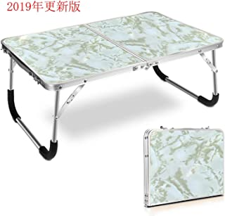 XUJI アウトドアテーブル 小型テーブル 折りたたみテーブル レジャー アウトドアグッズ 子供遊びテーブル キャンプ用品 キャンプテーブル ソロテーブル BBQテーブル 軽量 便利 アルミニウム合金 耐荷重約30kg 62 x 42 x 27.5cm