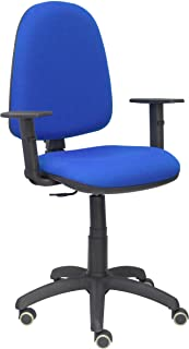 PIQUERAS Y CRESPO 04cpbali229b24rp–Chaise de Bureau, Couleur Bleu