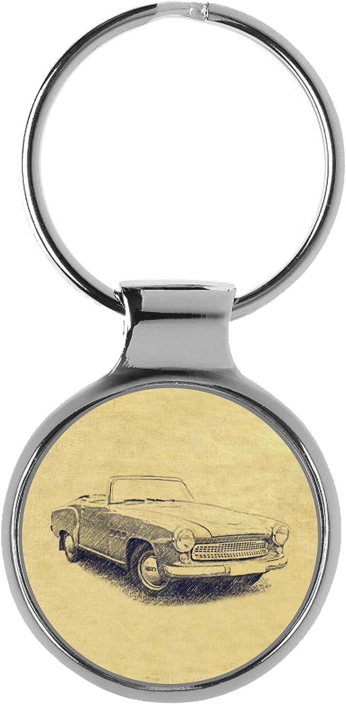 Over item handling KIESENBERG Key Chain Ring Keyring Ranking TOP10 Gift Sport for Wartburg 313 Fa