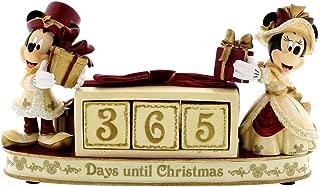 Disney Parks Mickey Minnie Mouse Victorian Christmas Countdown Calendar Figurine