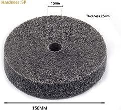 Join Ware 6Inch 25MM Thick Nylon Fiber Wheel Abrasive Polishing Buffing Disc Abrasive Disc Polishing Tools 2pcs
