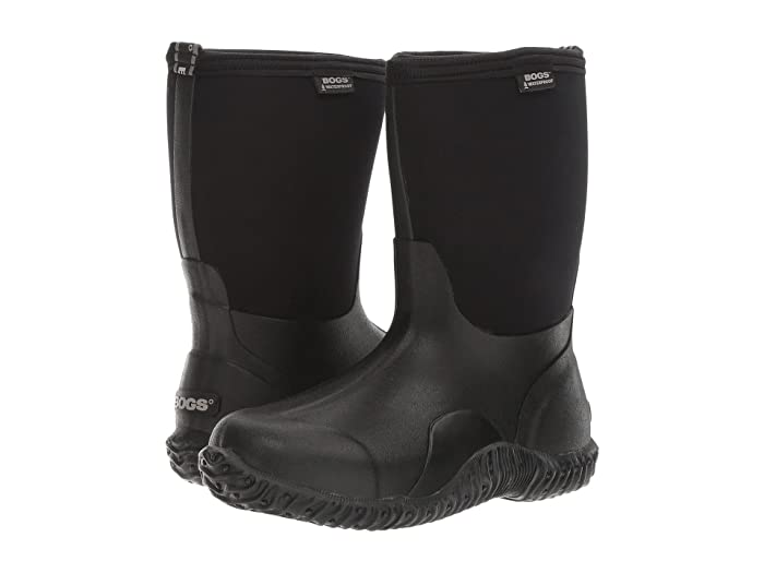 Bogs  Classic Mid (Black) Womens Rain Boots
