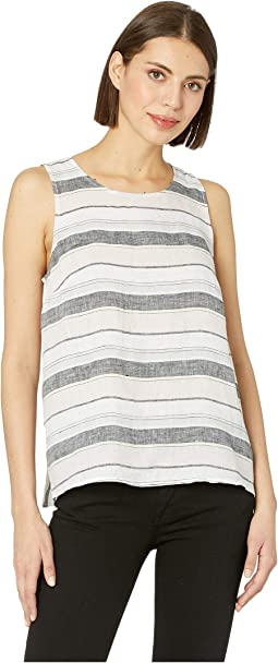 Sleeveless Sorbet Stripe Shell