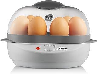 Sunbeam EC1300 Poach And Boil Egg Cooker, White