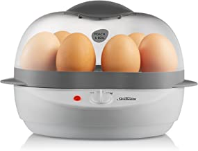 Sunbeam EC1300 Poach and Boil Egg Cooker, White