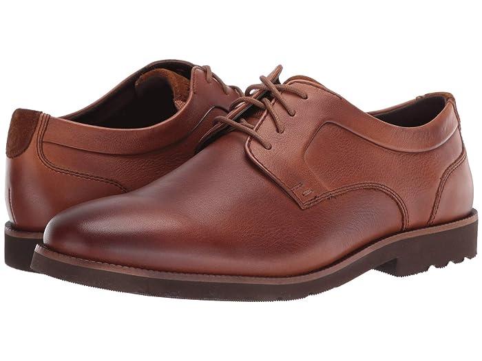 Rockport  Sharp and Ready 2 Plain Toe (Caramel) Mens Shoes