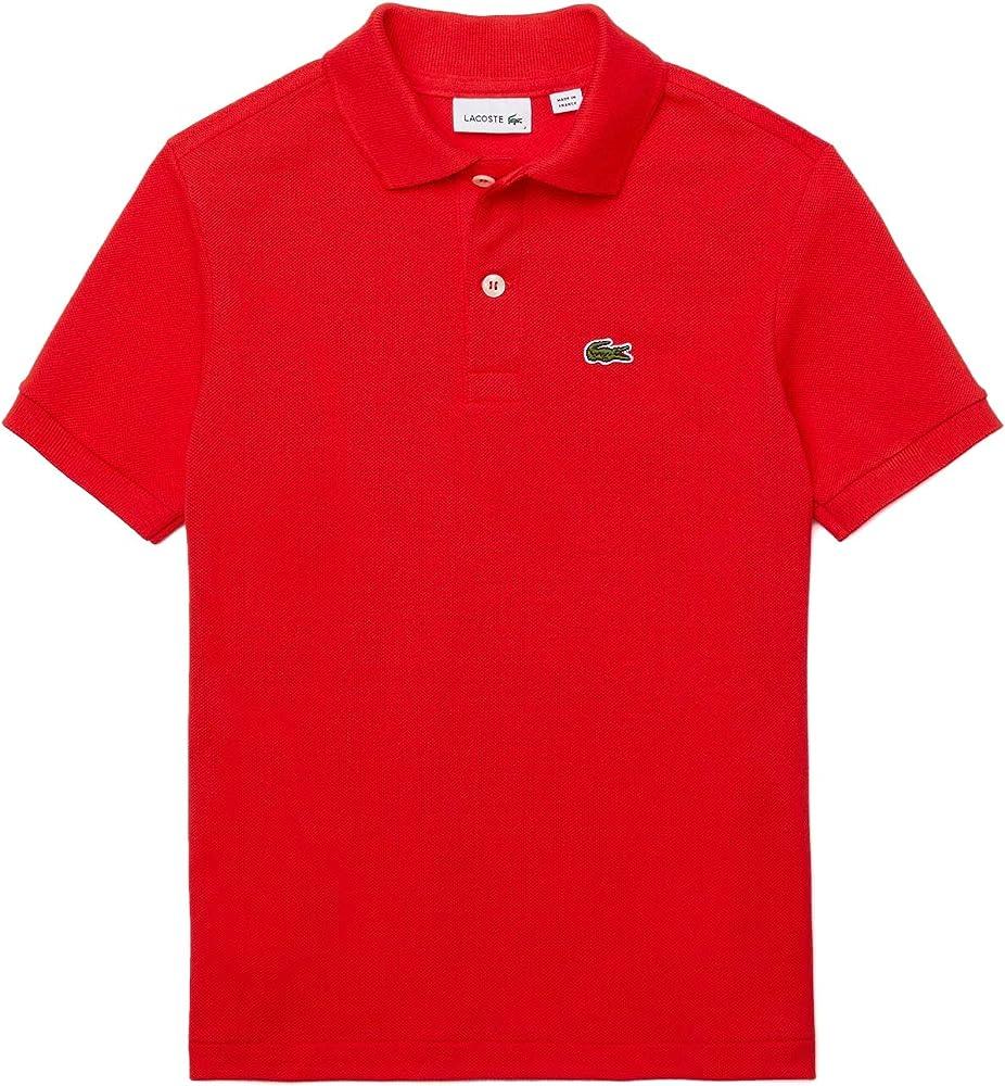 Lacoste polo , maglietta per  bambino/ ragazzo a maniche corte , da 1 anno ai 16 anni , 100% cotone PJ2909C