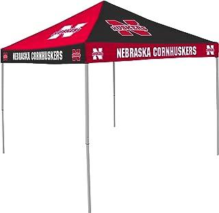 NCAA Nebraska Cornhuskers 9-Foot x 9-Foot Pinwheel Tailgating Canopy, Red/Black