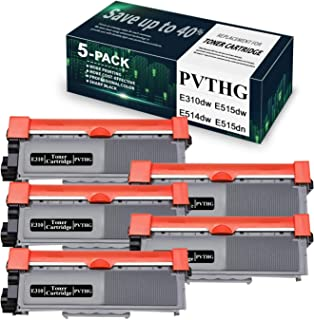 Sponsored Ad - 5-Pack Black E310 (PVTHG) Compatible Toner Cartridge Replacement for Dell E310dw E515dw E514dw E515dn Print...