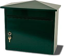 Sterling Mersey Steel Postbox - Groen