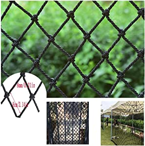 HWJ Children Safety Stair  Children s Window Safety Net Stairs Protection Net Balcony Anti-fall Net For Railway Balcony Railing Stairs Playground Children s Indoor Decoration Outdoor Rope Thicken