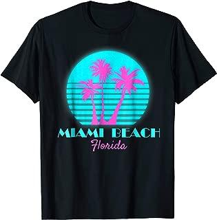 Miami Beach Florida Souvenir T Shirt South Beach Tee