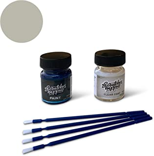 ScratchesHappen Exact-Match Touch Up Paint Kit Compatible with Ford/Lincoln Ingot Silver (UX/M7226A) - Essential