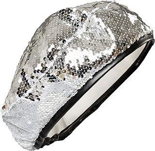 03fed31a234 Dark Paradise Women s 50s Vintage Sequins Beanie Cap Artist Berets Hat  57-61cm 22.4
