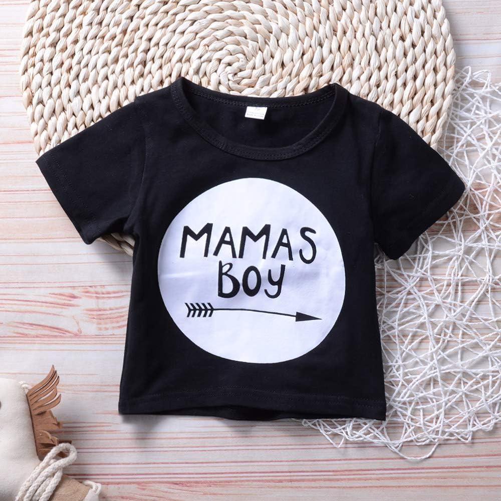 Baby Boys Girls Shark Sleeveless T-Shirt Vest Tank Tops Shorts 2Pcs Outfits
