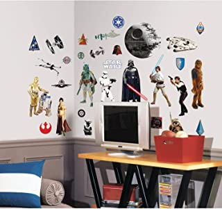 RoomMates Star Wars Classic Peel and Stick Wall Decals - RMK1586SCS