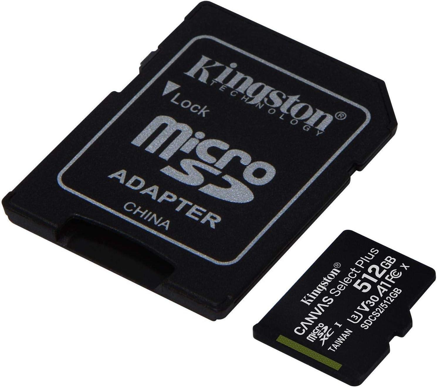 Kingston 512GB ZTE V1050 MicroSDXC Plus Select Bombing new work Card Canvas Verif Industry No. 1
