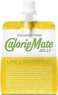 カロリーメイト ゼリー ライム&グレープフルーツ味 215g パウチ × 3ケース (1ケース24本入り) 大塚製薬