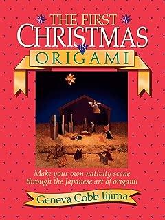 origami nativity book