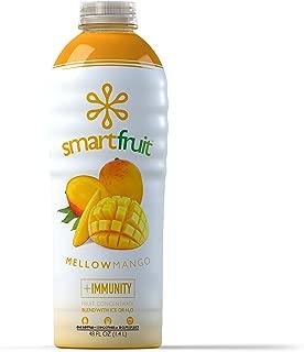 Smartfruit Mellow Mango, All Natural 100% Fruit Smoothie Mix, No Added Sugar, Non-GMO, No Additives, Vegan, 48 Fl. Oz (Pack of 1)