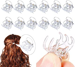 Xiang Ru Mini Hair Claws Clips Plastic Hairpin Clamps for Girls and Women