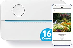 Rachio 3 Smart Sprinkler Controller, 16 Zone 3rd Generation, Alexa and Apple HomeKit Compatible with Hyperlocal Weather...