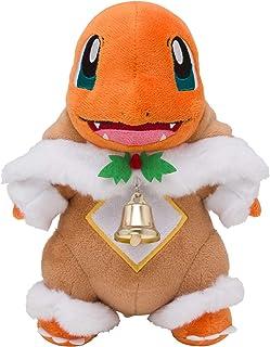 ポケモンセンターオリジナル ぬいぐるみ メブキジカポンチョのヒトカゲ Pokémon Frosty Christmas