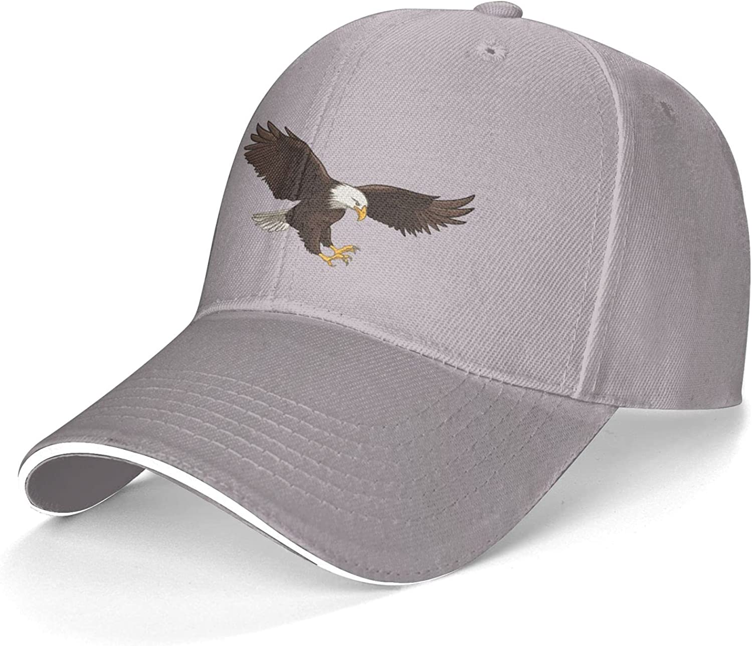 Eagle Fashion Sandwich Cap Fashion Hat for Man and Woman Cool Athletic Baseball Cap Adjustable Caps Dad Hat