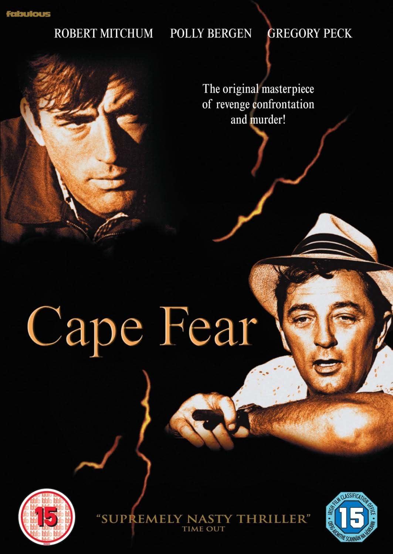 Cape Fear [DVD]: Amazon.co.uk: Gregory Peck, Robert Mitchum, Polly Bergen,  J. Lee Thompson, Gregory Peck, Robert Mitchum: DVD & Blu-ray