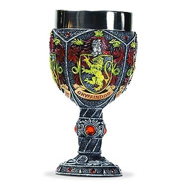 Enesco Wizarding World of Harry Potter Gryffindor Decorative Goblet Figurine, 7.09 Inch, Multicolor